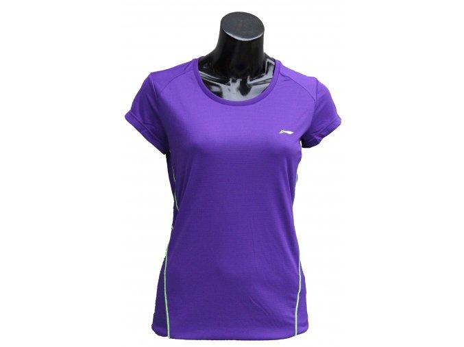 Sportovní triko LI-NING  2017 - fresh Magenta - zářivá fialová, dámské