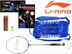 LI-NING Badmintonový SET Pánský - Začátečník
