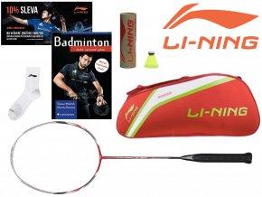 LI-NING Badmintonový SET Dámský - Začátečník