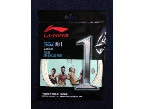 Badmintonový výplet LI-NING N.1 White 0,65 mm - bílá