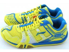 LI-NING Metall X STORM I, Flash Yellow, Pánská sálová obuv