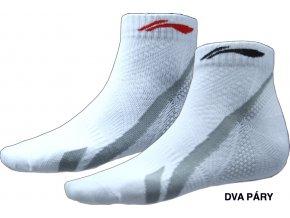Sportovní ponožky LI-NING Sport 2016 Pánské - set 2 páry