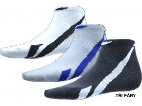 Sportovní ponožky LI-NING Sport 2016 Pánské - set 3 páry