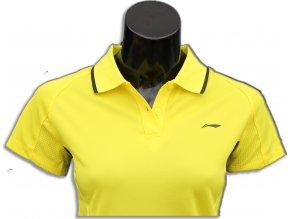 Sportovní triko s límečkem LI-NING Women 2016 Flash Yellow