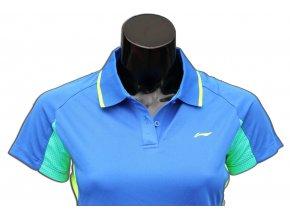 Sportovní triko s límečkem LI-NING Women 2016 Dark Blu