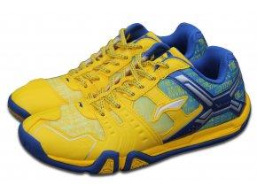 LI-NING Metall X STORM II, Bright Yellow, Pánská sálová obuv