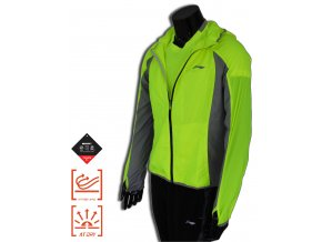 LI-NING STABLE RUN 2016 WIND PROOF JACKET, Pánská bunda proti větru