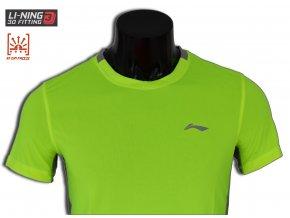 LI-NING STABLE RUN 2016, Fresh Green, Pánské sportovní tričko