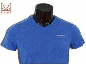 LI-NING STABLE 2016, Blue, Pánské sportovní tričko