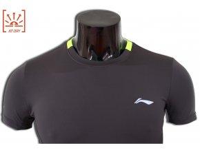 LI-NING STABLE RUN 2016, Fresh Grey, Pánské sportovní tričko