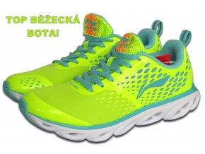 LI-NING BITE 2016 Flash Green, Dětská sportovní obuv