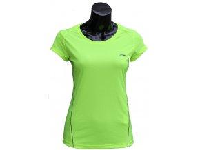 Sportovní triko LI-NING  2017, fresh Green - reflexní zelená, dámské