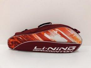 Bag na rakety LI-NING červený, jednokomorový