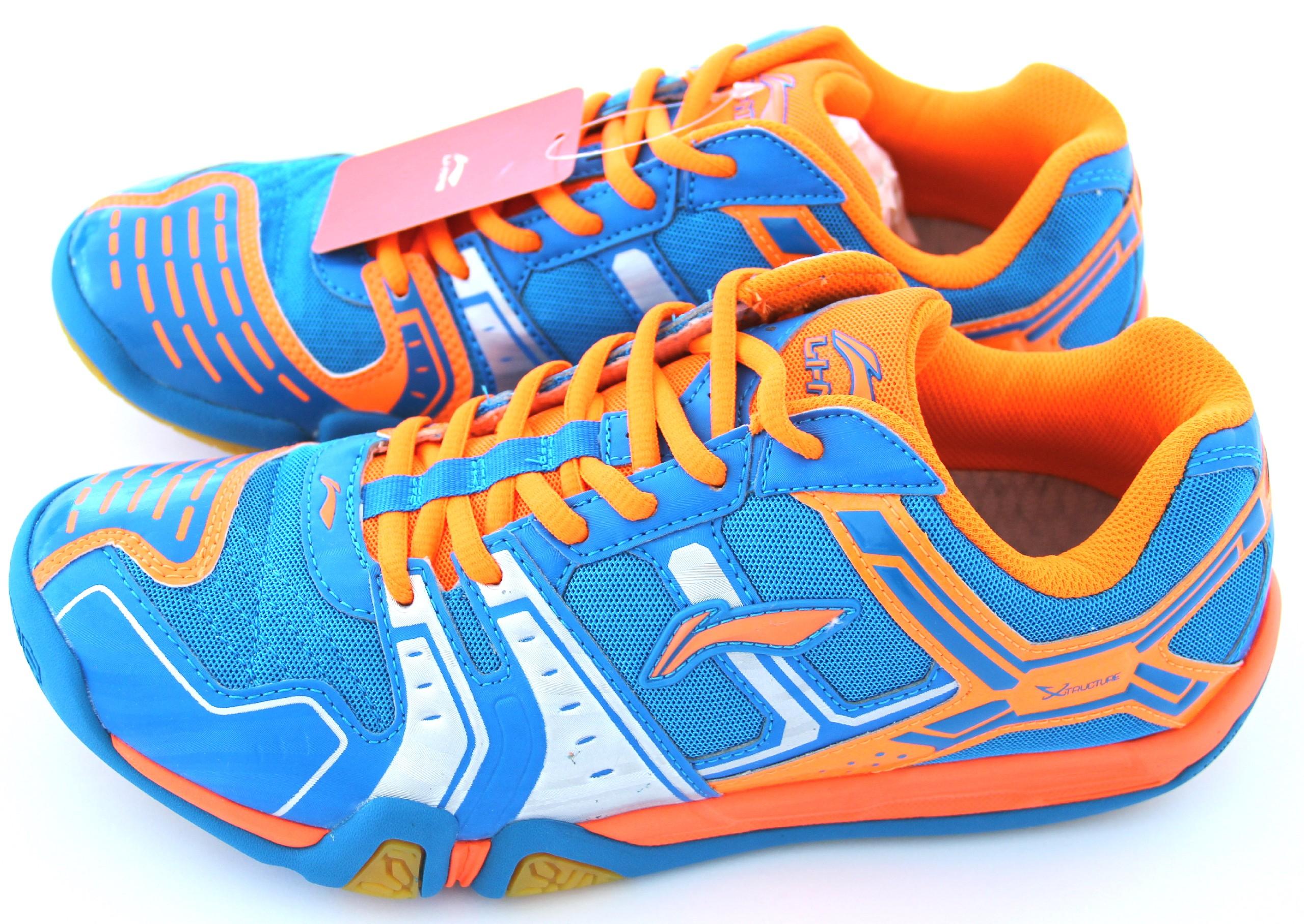 LI-NING Metall X STORM I, Flash Blu, Pánská sálová obuv Velikost: 44
