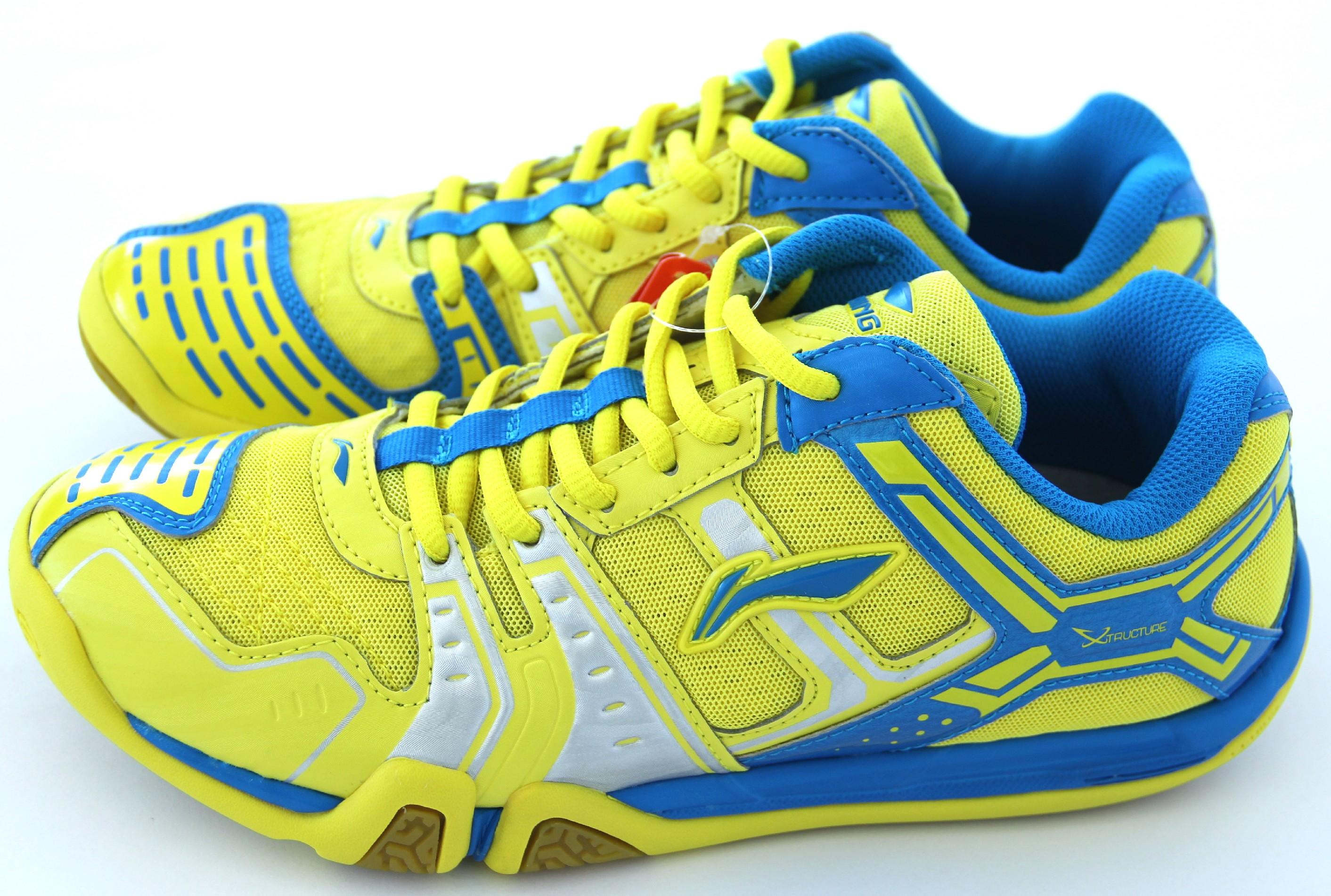LI-NING Metall X STORM I, Flash Yellow, Pánská sálová obuv Velikost: 44
