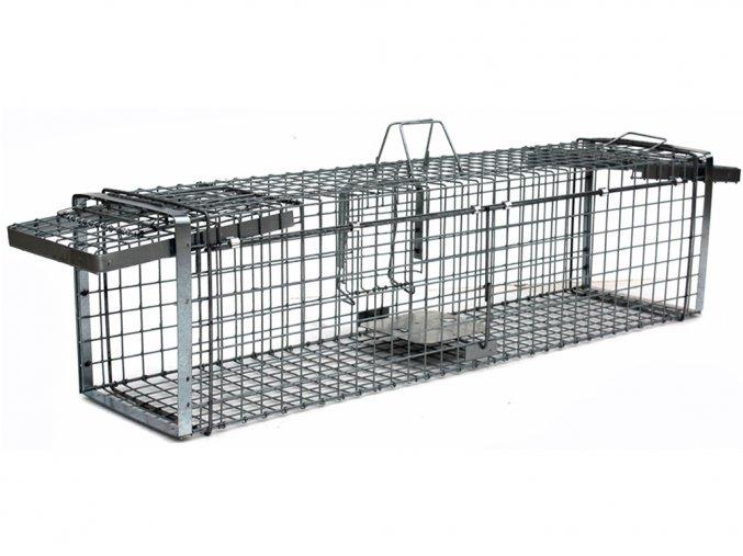 Profesionálna odchytová pasca na kuny, mačky, psy, vydry, bobry, líšky - H130x34x34V2  + v balenie DARČEK ZADARMO - odchytová sada za €7.99,-