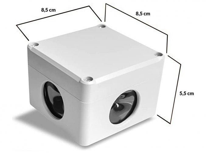Priestorový, vodotesný, ultrazvukový plašič na kuny, myši a potkany DRAGON ULTRASONIC C360 SMART p1
