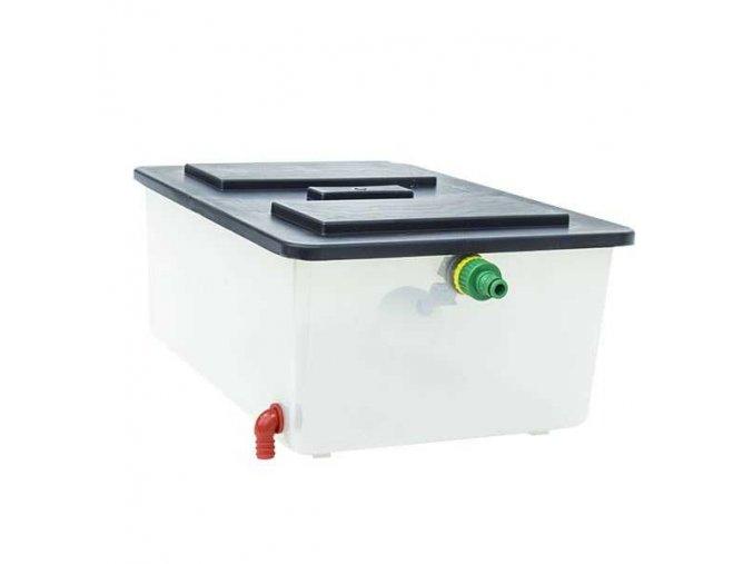 Nádrž na vodu s plavákovým ventilom CIMUKA SD-20L-W1/2-FV - kapacita 20 litrov