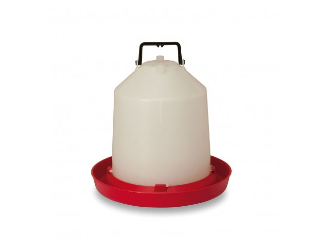 Závesná klobúková napájačka pre sliepky, hydinu CF002.12 MARTE 10l, plastová