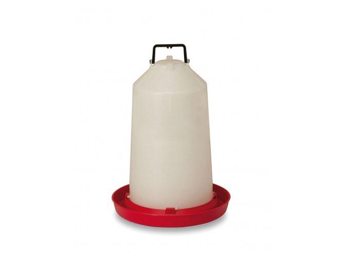 Závesná klobúková napájačka pre sliepky, hydinu CF002.16T NEW EFES 15l, plastová