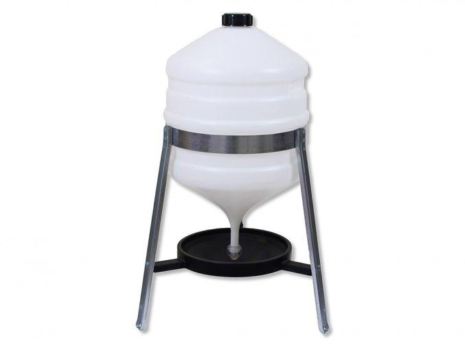 Barelová napájačka pre hydinu CF006.10 SATURNO 30 l, plastová