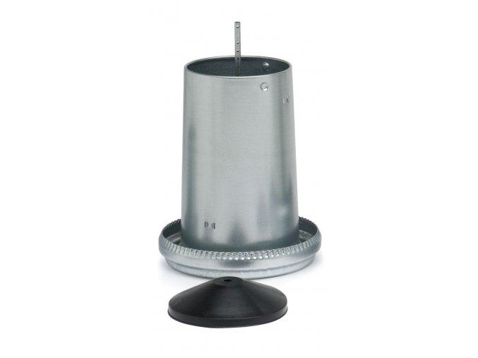 Kŕmny automat pre sliepky, hydinu CF013.03MS 18kg, pozinkovaný