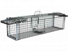 Profesionálna odchytová pasca na kuny, mačky, psy, vydry, bobry, líšky - H130x34x34V2  + v balenie DARČEK ZADARMO - odchytová sada za €5.99,-