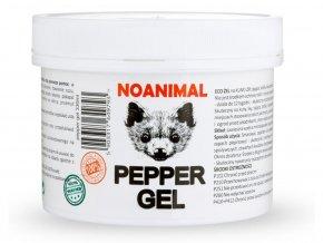Gélový pachový odpudzovač zveri NOANIMAL PEPPER GEL PG330, 330ml