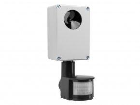 Vodotesný, ultrazvukový plašič na kuny, myši a potkany DRAGON ULTRASONIC E150 p1