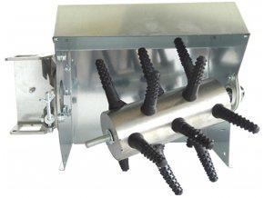 Šklbačka hydiny na vŕtačku s ochranným krytom SPIUMATRICE DIT CR RU08