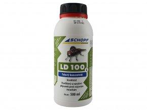 Postrekový a nanášacie koncentrát proti stajňovým muchám LD100G, 500ml
