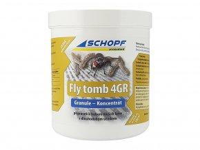 Insekticíd na hubenie muších lariev s dlhodobým účinkom FLY TOMB 4GR, 500g