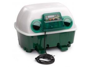 Liaheň na vajcia COVINA ET12 - s doliahňou hydiny  - kapacita 12 vajec, poloautomatické otáčanie, regulácia teploty, digitálny teplomer, externá nádržka na vodu