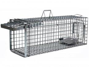 Profesionálna odchytová pasca na kuny, mačky a malé psy - H80x34x34  + v balenie DARČEK ZADARMO - odchytová sada za €7.99,-