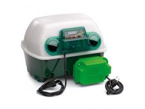 Liaheň na vajcia COVINA ET12 AUTOMATIC - s doliahňou hydiny  - kapacita 12 vajec, automatické otáčanie, regulácia teploty, digitálny teplomer, externá nádržka na vodu