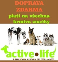 krmiva ACTIVE LIFE - DOPRAVA ZDARMA