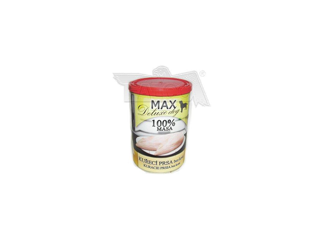 Masové konzervy Deluxe 100% svalovina