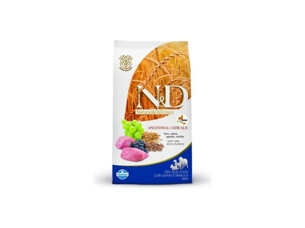 N&D Low Grain DOG Adult Mini Lamb & Blueberry