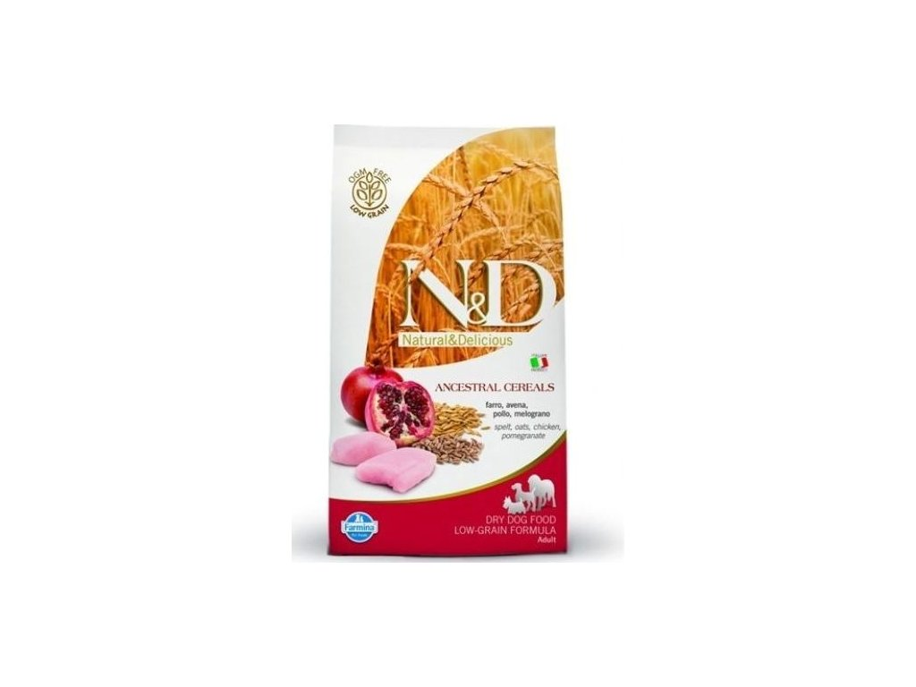 N&D Low Grain DOG Light M/L Chicken&Pomegranate