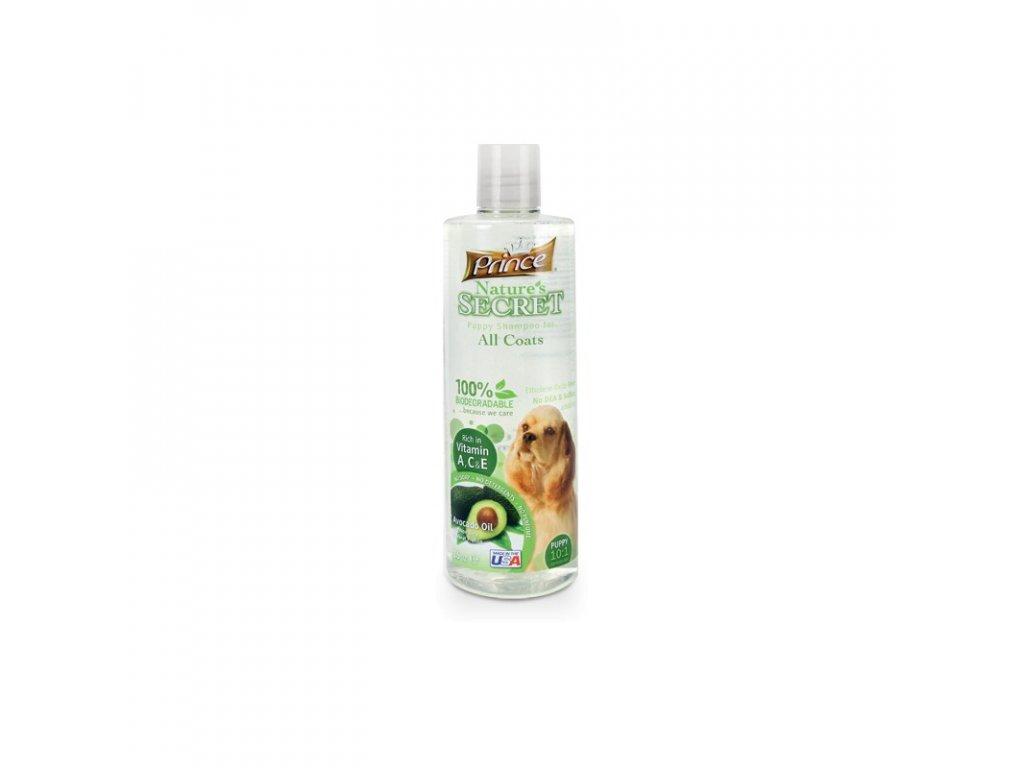 PRINCE & PRINCESS NATURES SECRET šampon pro psy, štěňata a kočky