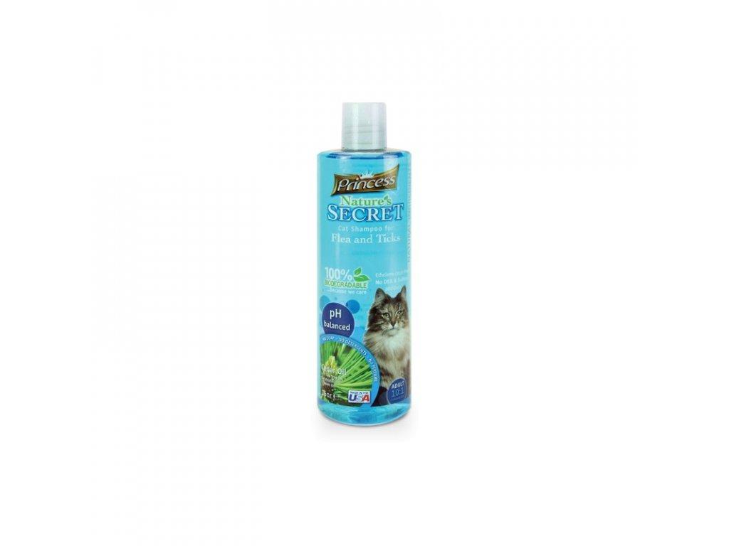 PRINCE & PRINCESS NATURES SECRET šampon proti blechám a klíšťatům