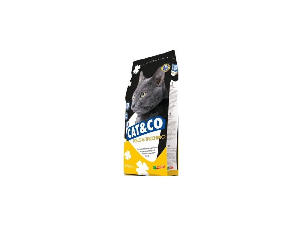 Cat & Co kuře a krůta 20 kg