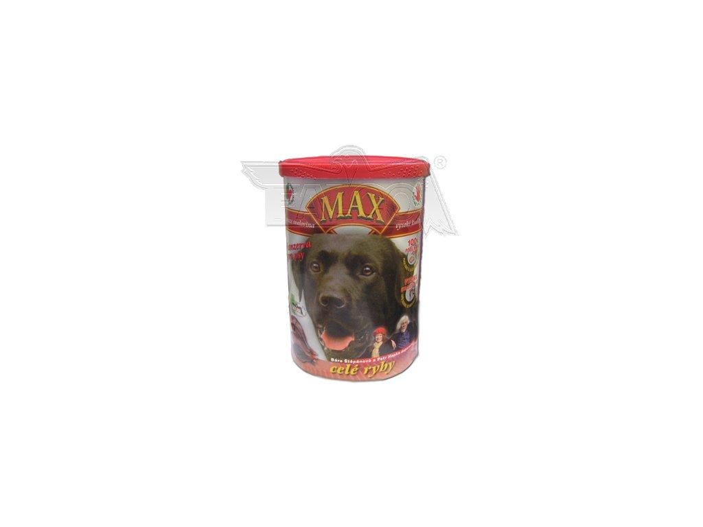 Max - Celé ryby, Kuřecí žaludky, Kuřecí srdíčka