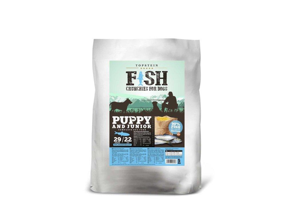 Topstein Fish Crunchies Puppy/Junior