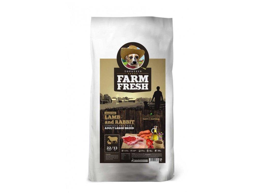 TOPSTEIN FARM FRESH LAMB & RABBIT ADULT LARGE BREED