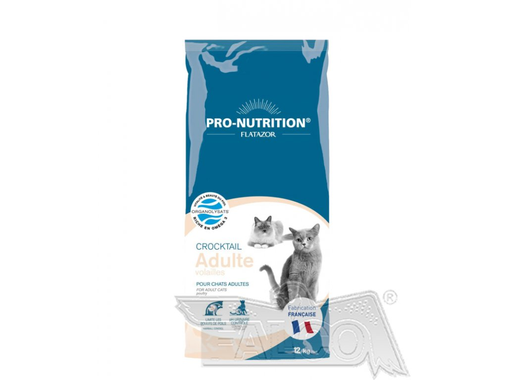Flatazor CROCTAIL cat drůbeží (super-premium) akce 12+2 kg