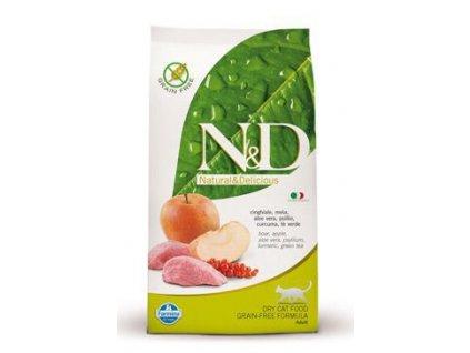 N&D Grain Free CAT Adult Boar & Apple