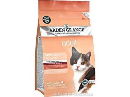Arden Grange Cat Adult Salmon & Potato