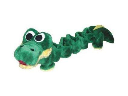 Bungee toy krokodýl, pes