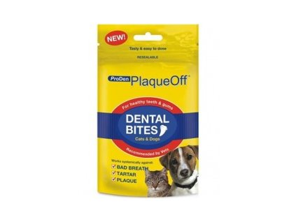 PlaqueOff Dental Bites 60 g